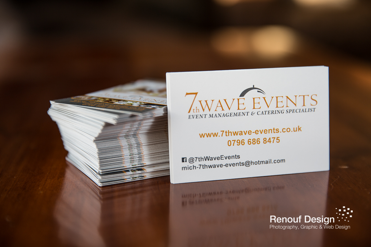 New Business Cards - 7th Wave Events