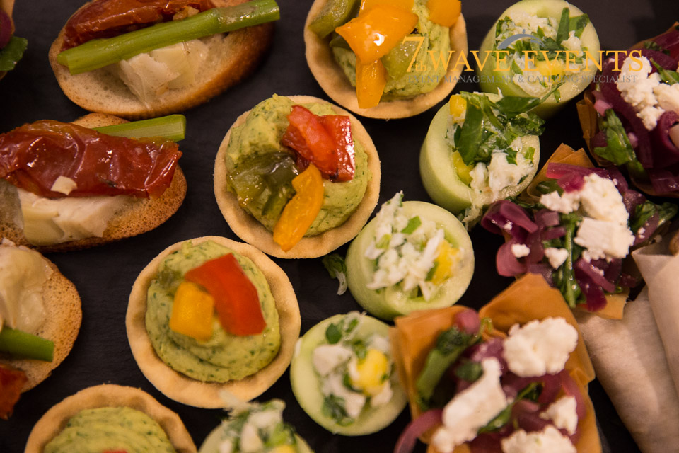 Canapes with 7th Wave Events